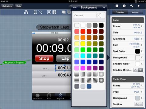 Mayo 2011 idevices news pgina 3 blueprint te ayuda a disear la interfaz de usuario de tu app desde ipad o ipad 2 app malvernweather Choice Image